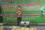 Launching Kelas Industri Bersama Kawasaki
