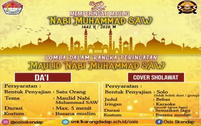 Memperingati Maulid Nabi Muhammad SAW. 1442 H / 2020 M